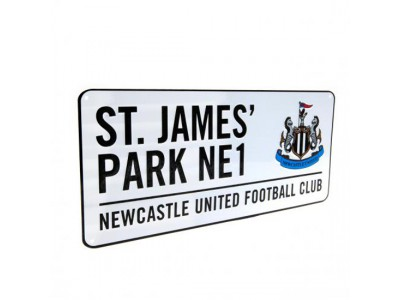 Newcastle United skilt - NUFC Street Sign