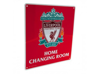 Liverpool FC skilt - Home Changing Room Sign