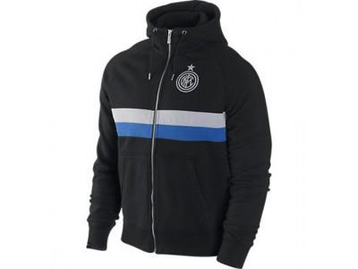 Inter hætte trøje 2012/13 - sort