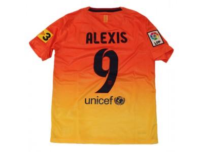 Barcelona ude trøje 2012/13 - børn - Alexis 9