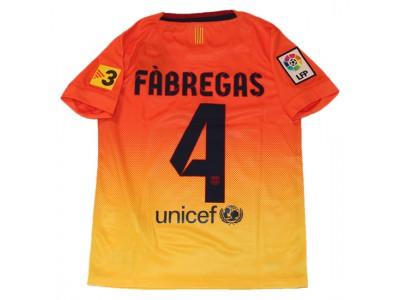 Barcelona ude trøje 2012/13 - børn - Fabregas 4