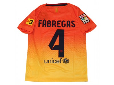 Barcelona ude trøje 2012/13 - Fabregas 4