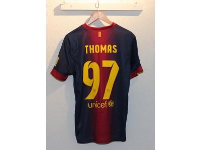 FC Barcelona hjemme trøje 2012/13 - Thomas 97
