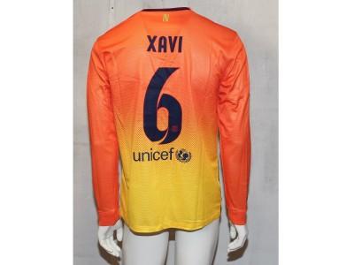 Barcelona ude trøje L/Æ 2012/13 - Xavi 6