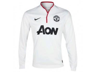 Manchester United ude trøje Lange Ærmer 2012/13 - børn