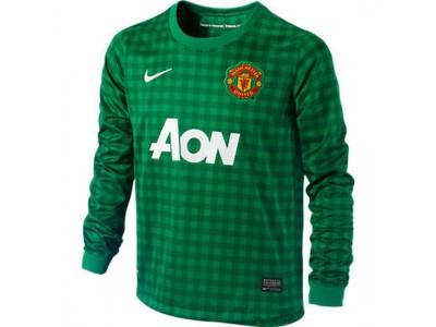 Manchester United målmandstrøje 2012/13 - grøn