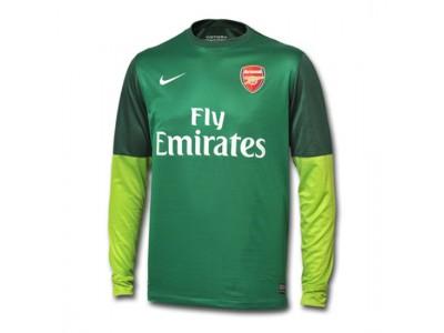 Arsenal målmandstrøje 2012/13 - grøn