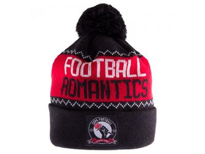 Football Romantics Beanie - sort-rød-hvid