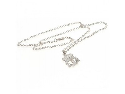 Liverpool FC halskæde med emblem - Silver Plated Pendant & Chain CR