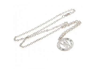 Chelsea kæde - Silver Plated Pendant & Chain CR