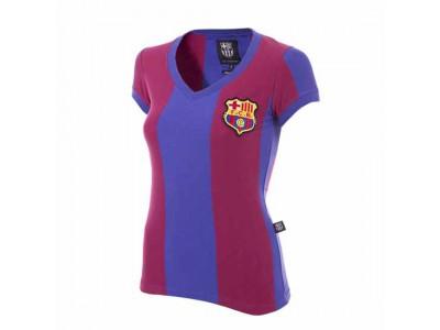 FC Barcelona 1976 - 77 Retro Fodbold Trøje - dame