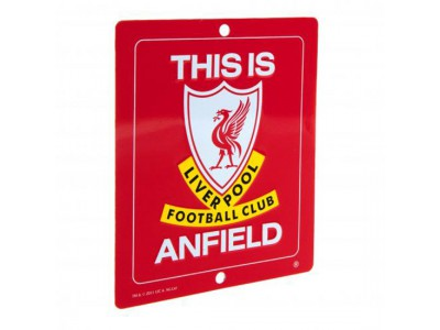 Liverpool FC vindue skilt - T.I.A. Window Sign SQ