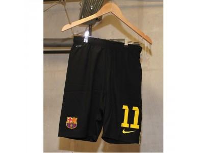 Barcelona 3. shorts 2013/14 - børn - nummer 11