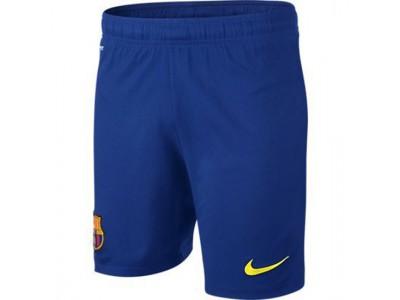 FC Barcelona målmands shorts 2013/14 - blå - børn