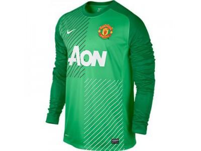 Manchester United hjemme målmandstrøje 2013/14 - børn