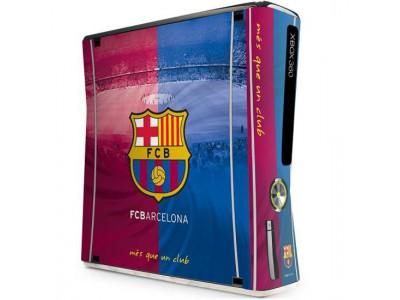 FC Barcelona - Xbox 360 Console Skin (Slim)