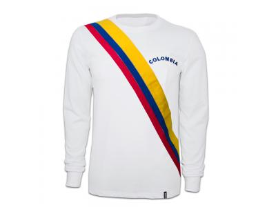 Colombia 1973 Retro Trøje Lange Ærmer