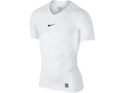 Nike kompressions trøje - hvid
