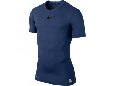 Nike kompressions trøje - navy