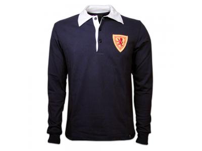 Skotland 1950erne Lang Ærmet retro trøje