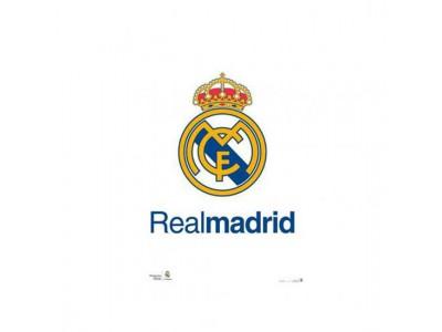 Real Madrid plakat logo - Poster Crest 2