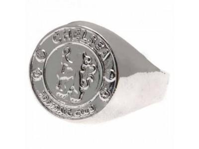Chelsea sølv emblem og kæde - Silver Plated Pendant & Chain LN