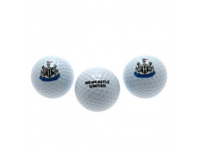 Newcastle United golf bolde - NUFC Golf Balls