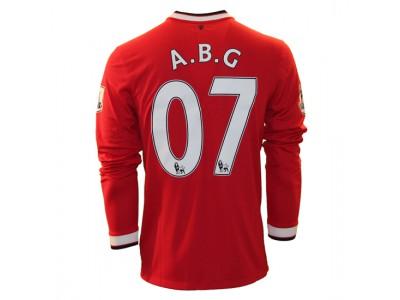 Manchester United hjemme trøje L/Æ - ABG 07