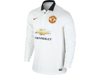 Manchester United ude trøje L/S 2014/15 - børn