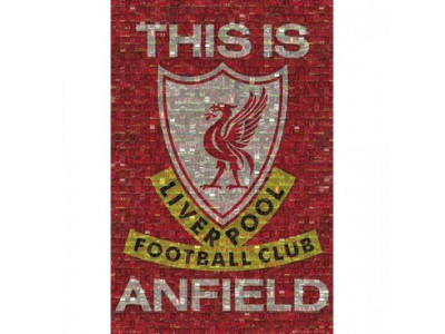 Liverpool FC plakat - Poster Mosaic 39
