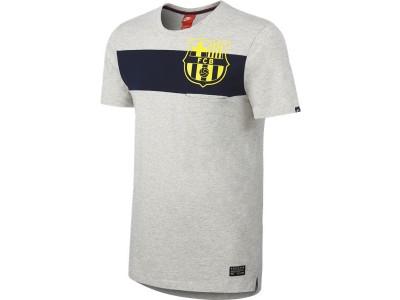 FC Barcelona covert t-shirt 2014/15 - grå