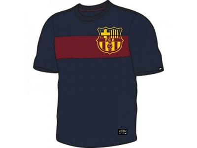 FC Barcelona t-shirt med lomme 2014/15 – navy