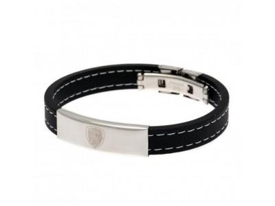 Arsenal armbånd - Stitched Silicone Bracelet