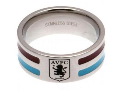 Aston Villa FC Colour Stripe Ring Small