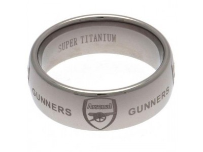 Arsenal ring - Super Titanium Ring - Medium