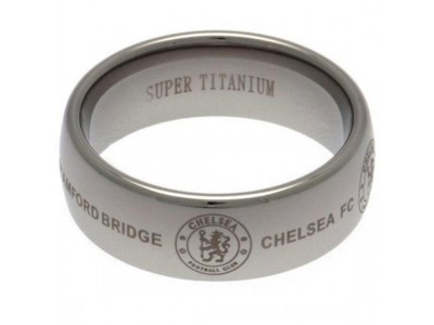 Chelsea FC Super Titanium Ring Small