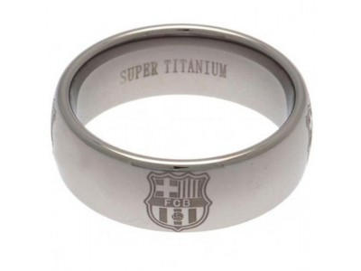 FC Barcelona - Super Titanium Ring Small