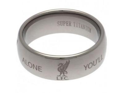 Liverpool ring - LFC Super Titanium Ring - Small