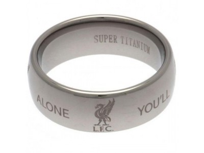 Liverpool ring - LFC Super Titanium Ring Large