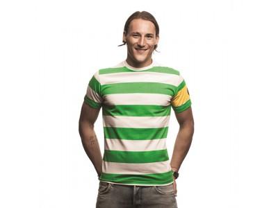 Celtic Captain T-Shirt grøn - hvid