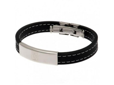 Aston Villa FC Stitched Silicone Bracelet