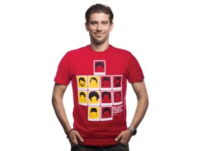 Belgien T-Shirt Famous HairCuts