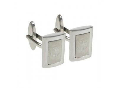 Everton manchetknapper - Stainless Steel Framed Cufflinks