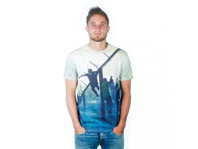 Hinchas All Over T-Shirt // hvid