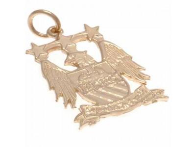 Manchester City smykke - 9ct Gold Pendant Eagle Crest