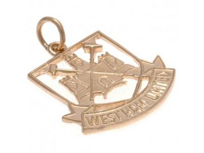 West Ham smykke - 9ct Gold Pendant Castle