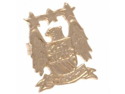 Manchester City FC 9ct Gold Earring EC