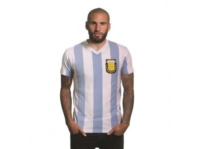 Argentina 1982 V-Neck T-Shirt | White