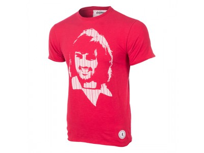George Best Repeat Logo T-Shirt - rød
