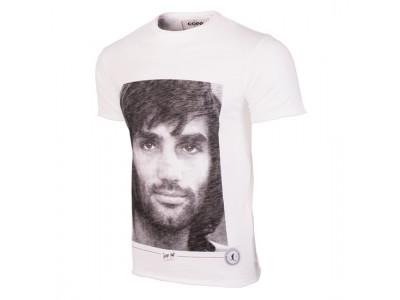 George Best Portrait T-Shirt - hvid